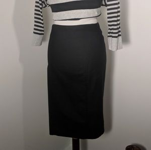 Bebe Pencil Skirt black